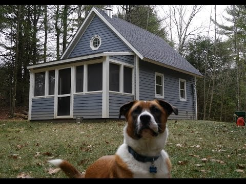 Fully LEGAL 252 Sq Foot Tiny House in Massachusetts Cabin Small