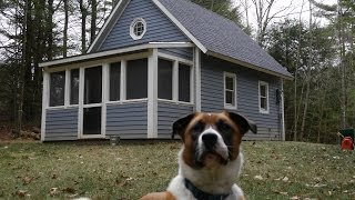 Fully Legal 252 Sq. Foot Tiny House In Massachusetts  Cabin-small Home
