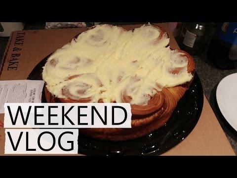Giant Costco Cinnamon Buns! | Weekend Vlog