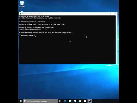 How to: Repair System Corrupted file