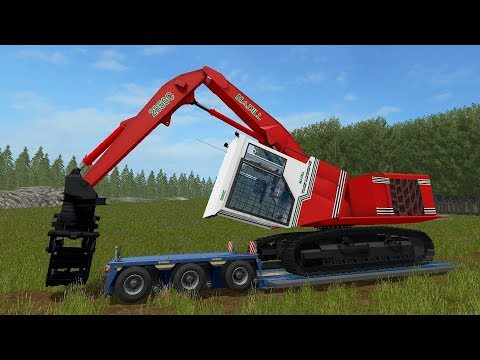 Farming Simulator 17 - Forestry and Farming on Woodshire 054 thumbnail