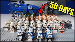 I Built a Lego CLONE ARMY in 50 DAYS!
