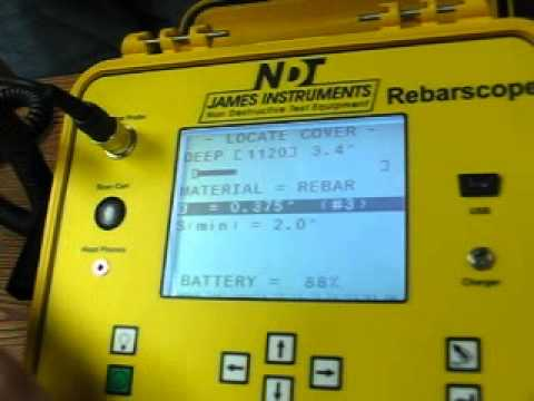 Rebarscope®Advanced System for Rebar Location and Bar Size