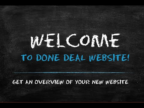 Welcome to Done Deal Website!