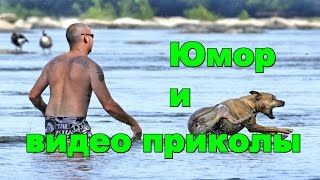 Юмор и видео приколы. Humor and fun videos.(Самая смешная подборка видео приколов. Humor and fun videos. Позитивный юмор на #КаналChannel_ЮморShow #ЮморShow. --------------------..., 2016-05-06T10:04:01.000Z)