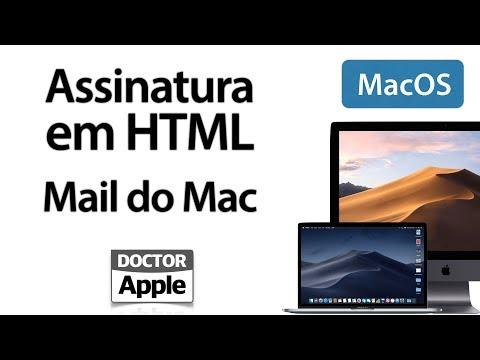 Curso Apple Mac - Assinatura Em HTML No Mail Do Mac
