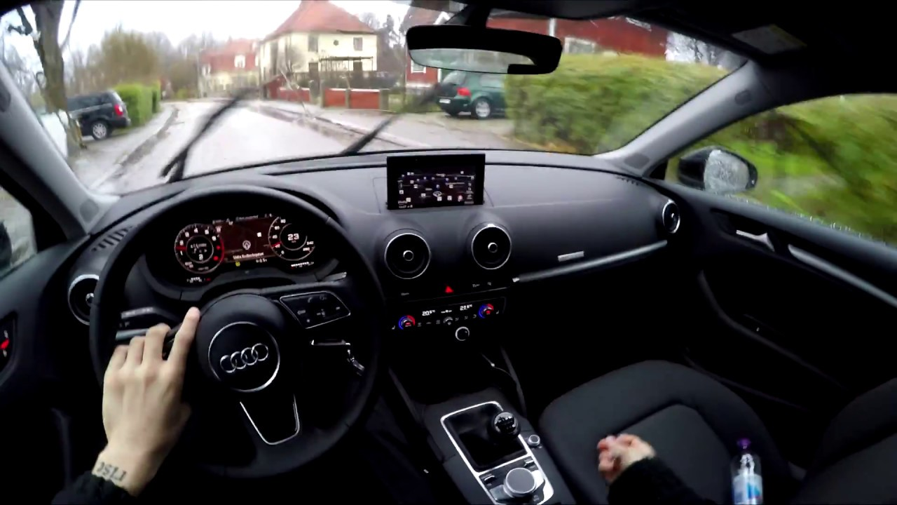 2018 Audi A3 Sportback Manual Pov Day Youtube