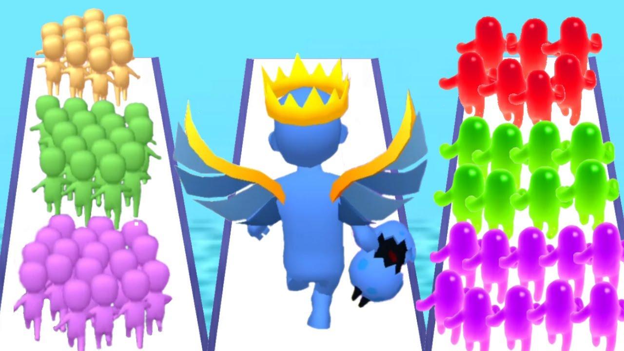 COUNT MASTERS vs BOOM RUNNER vs JOIN BLOB CLASH 3D - Triple Game