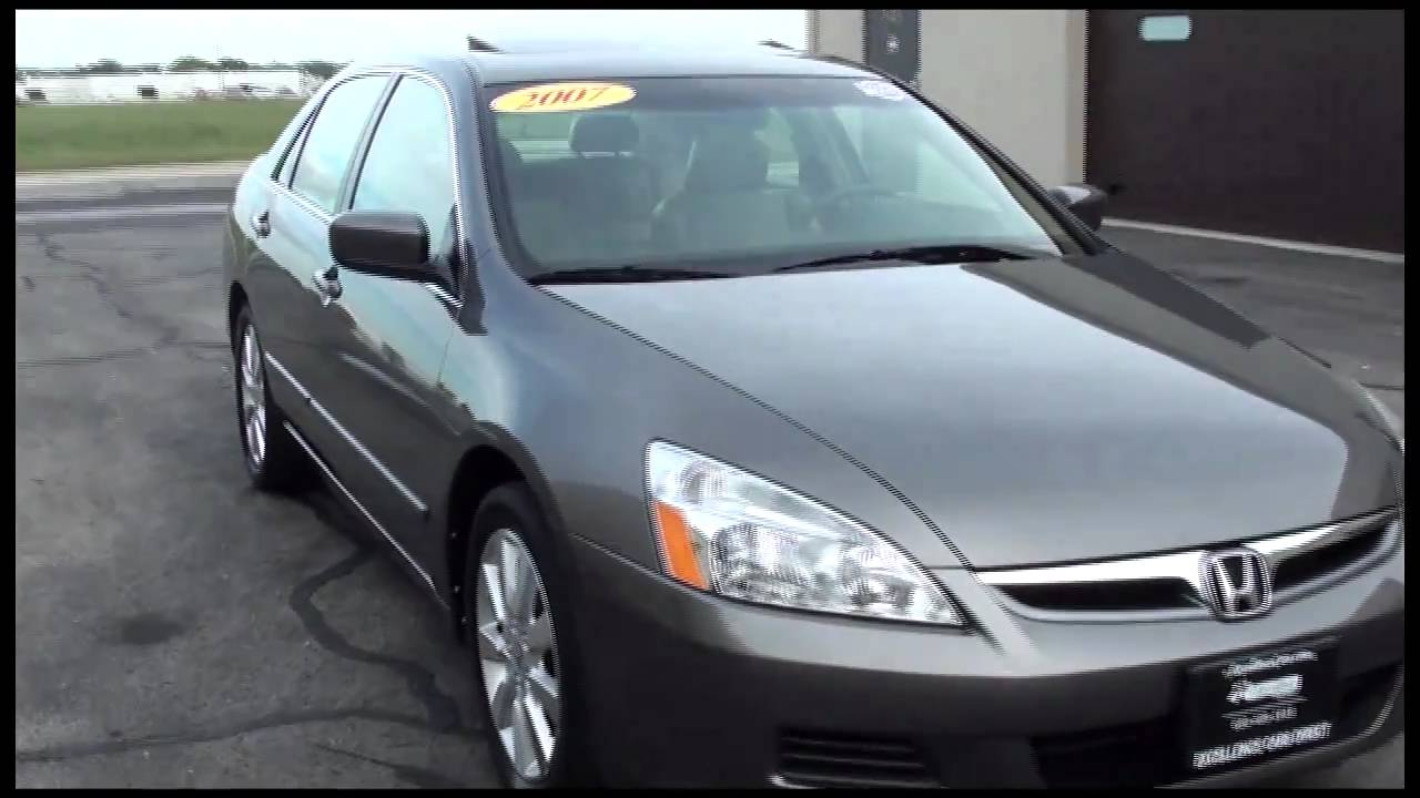 2007 Honda Accord Ex L >> 2007 Honda Accord Exl V6 Sedan Auto Excellence Cars Direct