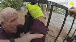 Couple saved from flooding in Apache Junction caught on camera