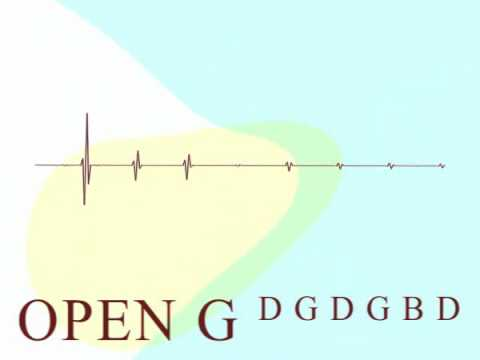 Guitar Tuning - Open G - DGDGBD