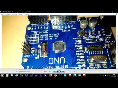 Arduino Начало!!! Установка Драйвера на Китайскую Ардуино и Урок 1