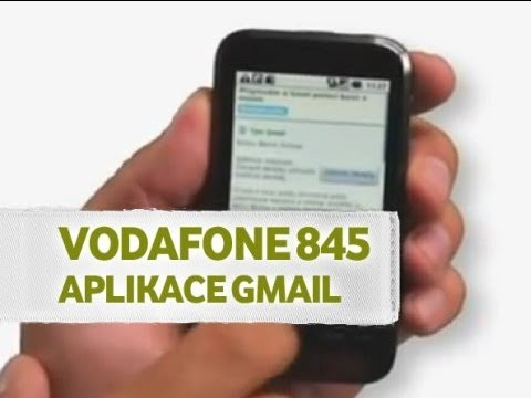 Aplikace Gmail - Vodafone 845
