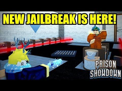NEW JAILBREAK GAME PRISON SHOWDOWN is FINALLY HERE! | Roblox