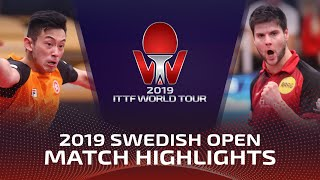 Дмитрий Овчаров vs Wong Chun Ting | Swedish Open 2019 (R16)