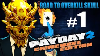 PAYDAY 2 Xbox One Crimewave Edition #1 Road to Overkill Skull
