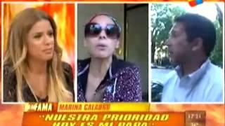 Exitoina.com - Marina Calabro y la salud de su papá