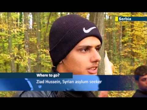 Europe facing Arab Spring immigration crisis: asylum seekers from Africa and Syria flood Serbia