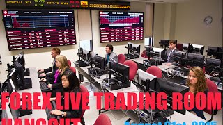 FOREX TRADING: Live Trading Room Hangout August 21st 2015