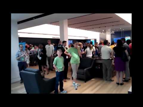 Microsoft Store Grand Opening - pentagon city, VA - for WEEZER tickets!!!