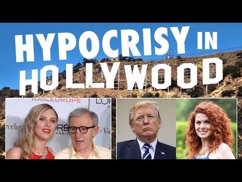 Debra Messing vs Trump Supporters & ScarJo for Woody Allen | Hollywood Hypocrisy