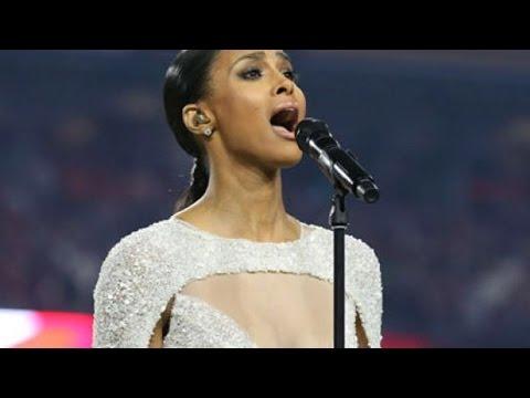 Ciara's Slut-Shamed For National Championship Dress