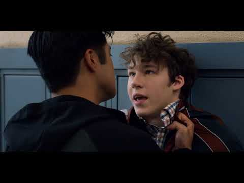 13 Reasons Why  Season 2: Zach pushes Tyler against the locker