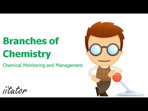√ Branches of Chemistry | Chemical Monitoring and Managenent | iitutor