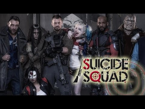 Suicide Squad Official Trailer Review