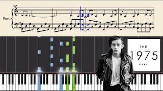 The 1975 - Somebody Else - Piano Tutorial + Sheets