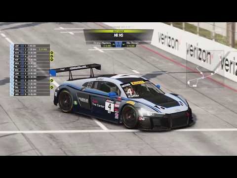 GT3 World Series - 2. LaufLong Beach - Project Cars 2 - Day & Night Race