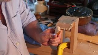 Ironbrush Fundamentals 02 - Using a Japanese woodwork marking knife