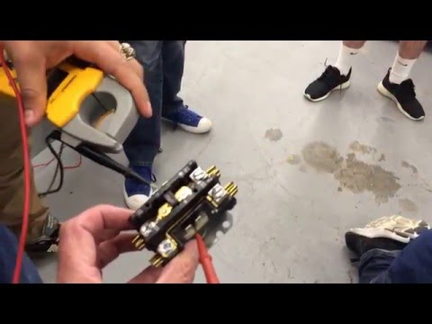 HVAC Service & Troubleshoot - Replace the outdoor unit contactor