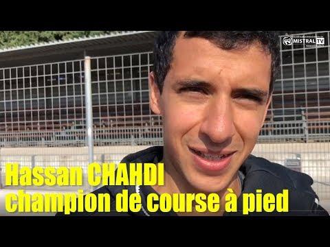 Hassan CHAHDI, champion de course à pied