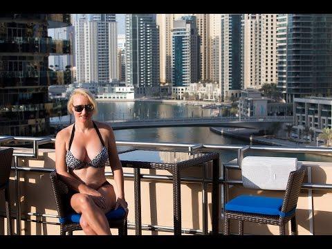 Dubai Marina Address Hotel Suite Tour & Commentary