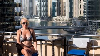 Dubai Marina Address Hotel Suite Tour & Commentary