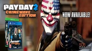 [Twitch] Payday 2 Crimewave Edition PS4 Gameplay | Online Multiplayer