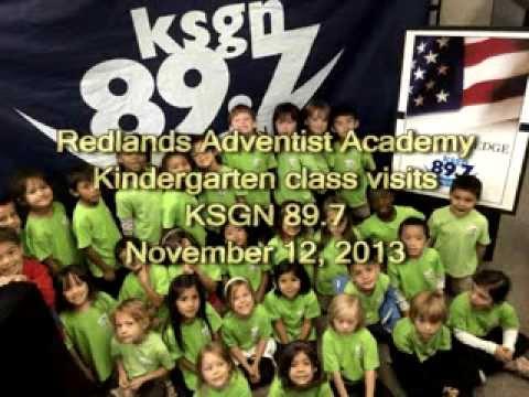 Redlands Adventist Academy visits KSGN 89.7