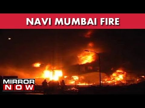 Major Fire At A Chemical Company In Turbhe I The News