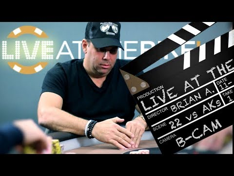 ACTION! Hollywood Producer Plays Blockbuster Hand With Deuces 22  ♠ Live at the Bike!
