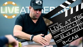 Action! Hollywood Producer Plays Blockbuster Hand With Deuces (22)  ♠ Live at the Bike!