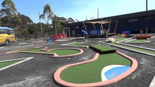 How to play Helensburgh Driving Range Mini Golf / Putt Putt course.Version 2.