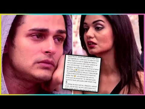 Priyank Sharma Emotional Letter For Ex - Girlfriend Divya Agrawal