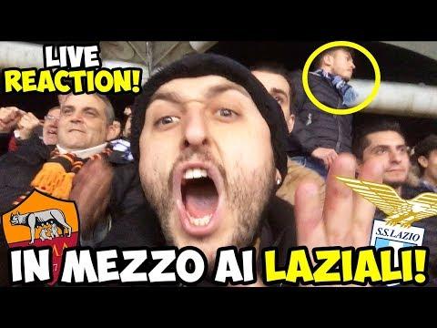 In mezzo ai LAZIALI!! Roma Lazio 2-1 [LIVE REACTION Derby]