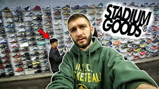 I NEED TO BUY THESE SNEAKERS! SNEAKER SHOPPING at STADIUM GOODS in NYC!