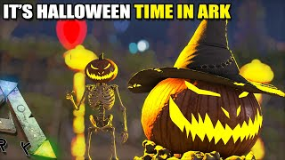 IT'S HALLOWEEN TIME IN ARK !! | SPOOKY SERVER | ARK SURVIVAL EVOLVED EP1