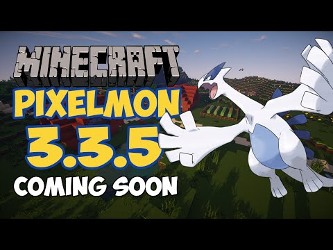 Minecraft Pixelmon 3.3.5 UPDATE - NEW LEGENDARY, LUGIA SCREENSHOT!