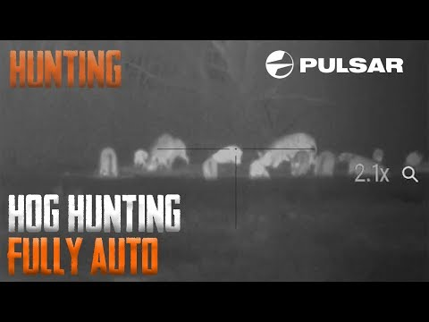 Hog Hunting Fully Auto! (Slinging Led In A Hurry)