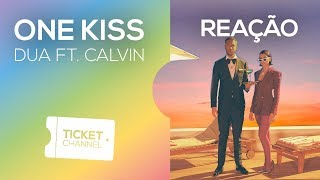 ⛔ One Kiss - Dua Lipa ft. Calvin Harris - Music Video - TICKET REAGE #46
