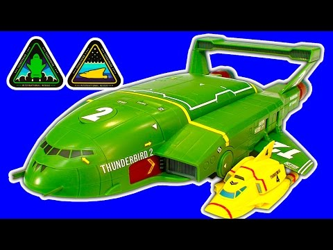 Thunderbird 2 & 4 SUPERSIZE AWESOME NEW Thunderbirds Are Go Toys